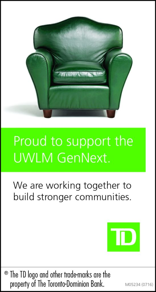 TD is a proud supporter of GenNext