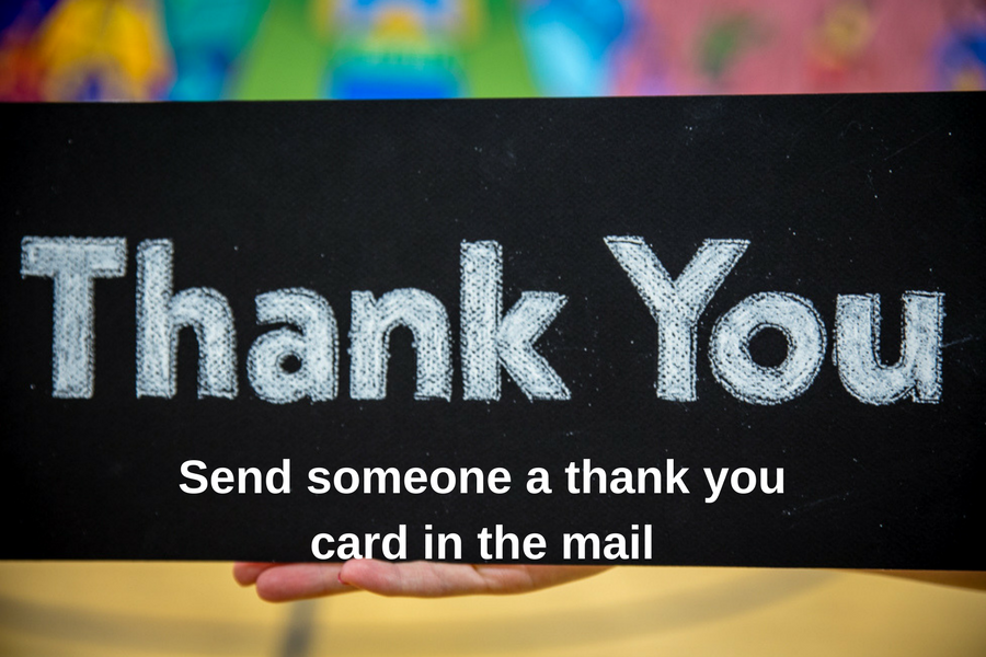a photo of the words Thank You