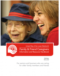 pdf download of the Family and Friends Caregivers gude