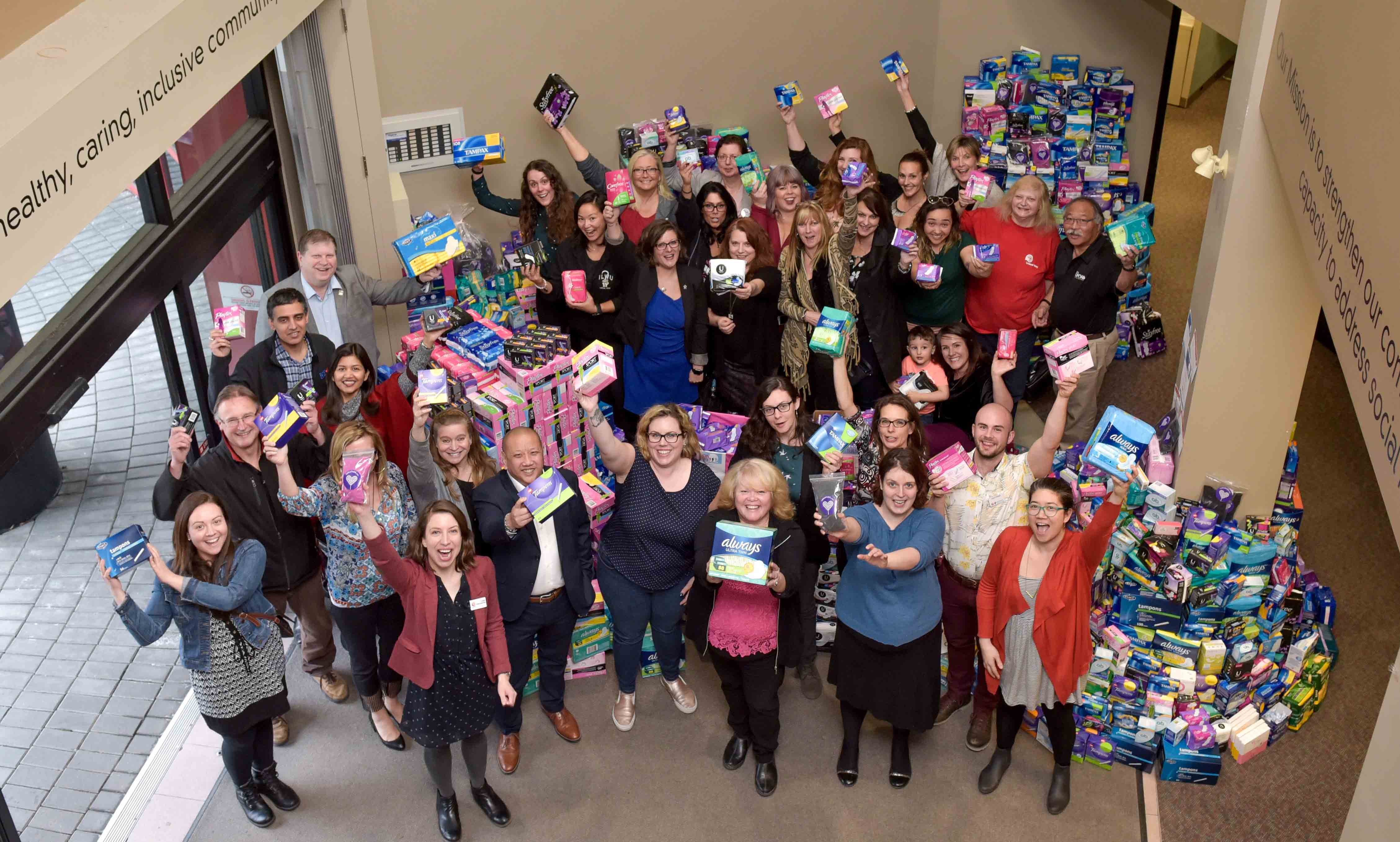 tampon tuesday united way lower mainland