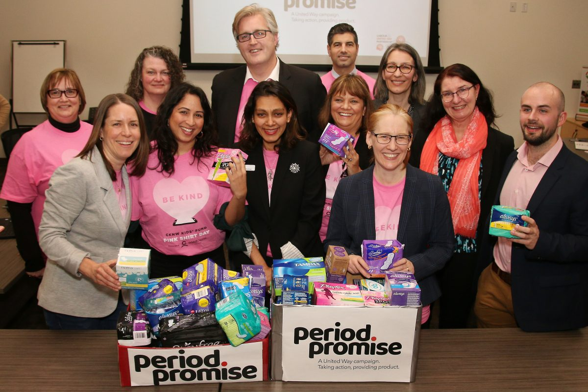 New Westminster makes history with pads and tampons