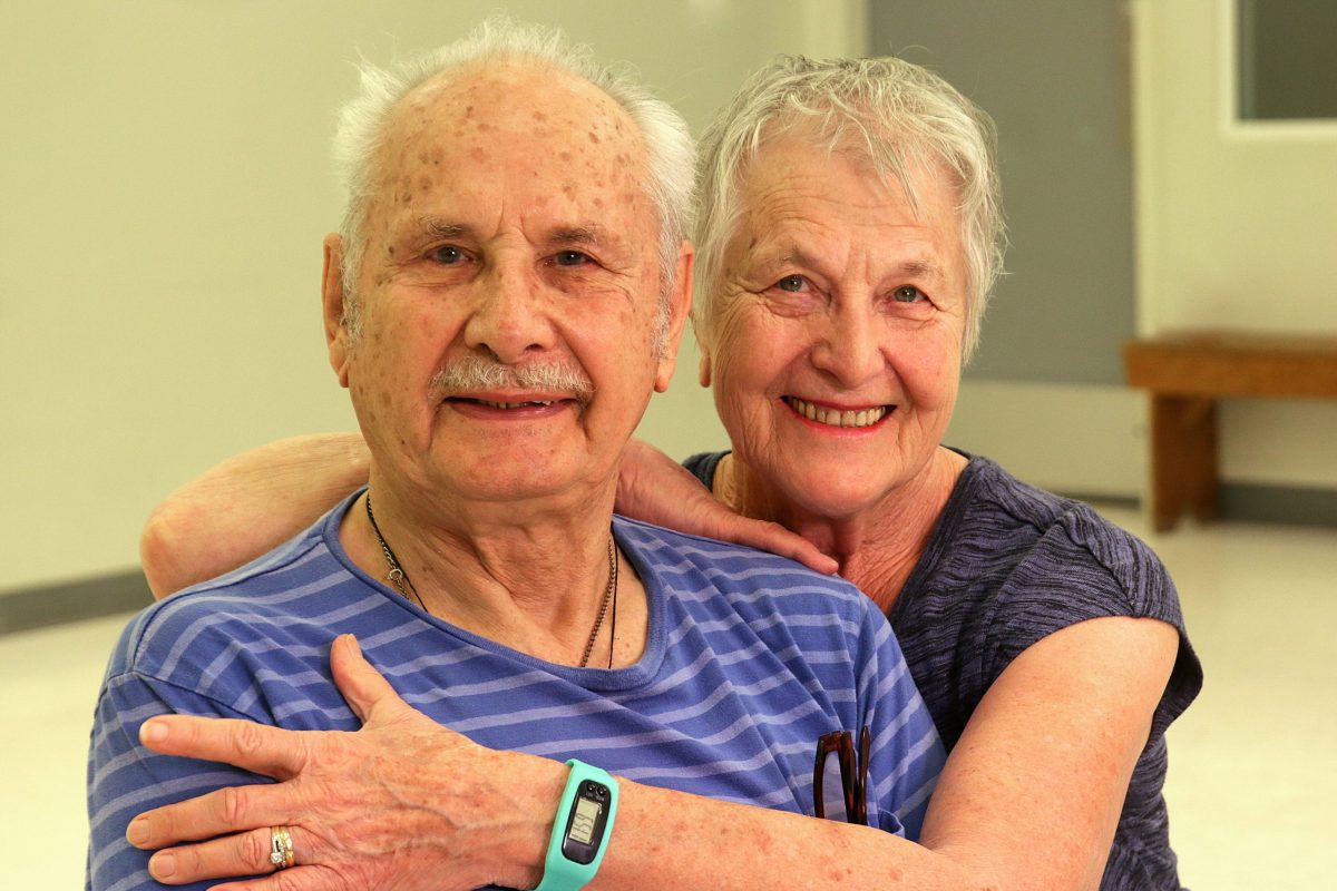 Don and his wife Joyce